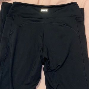Black comfy leggings from PINK